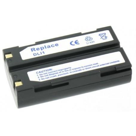 NedRo - Accu Batterij compatible met Pentax D-Li1 - Pentax foto-video batterijen - V133 www.NedRo.nl