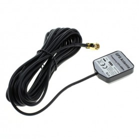 GPS antenna with SMA connector and magnetic foot 90 degree angle connector