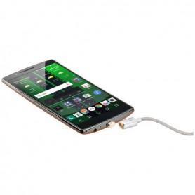 Goobay Magnetisches Micro USB-Kabel - silber