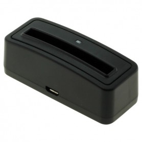 OTB - Digibuddy Akkuladestation 1301 compatible with the Samsung EB-575152 - black - Ac charger - ON3756 www.NedRo.us