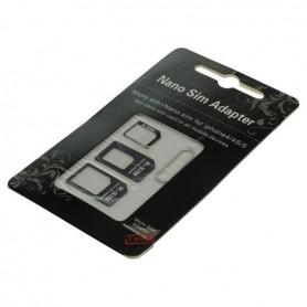 OTB SIM card adapter set (4 in 1) blister