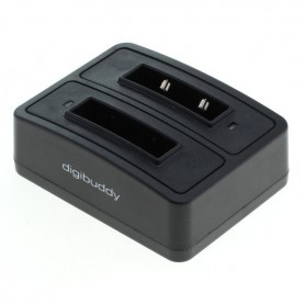 OTB - Dual Battery Charging Dock compatible with 1302 Sennheiser BA 90 - Koptelefoon en Accessoires - ON3792 www.NedRo.nl