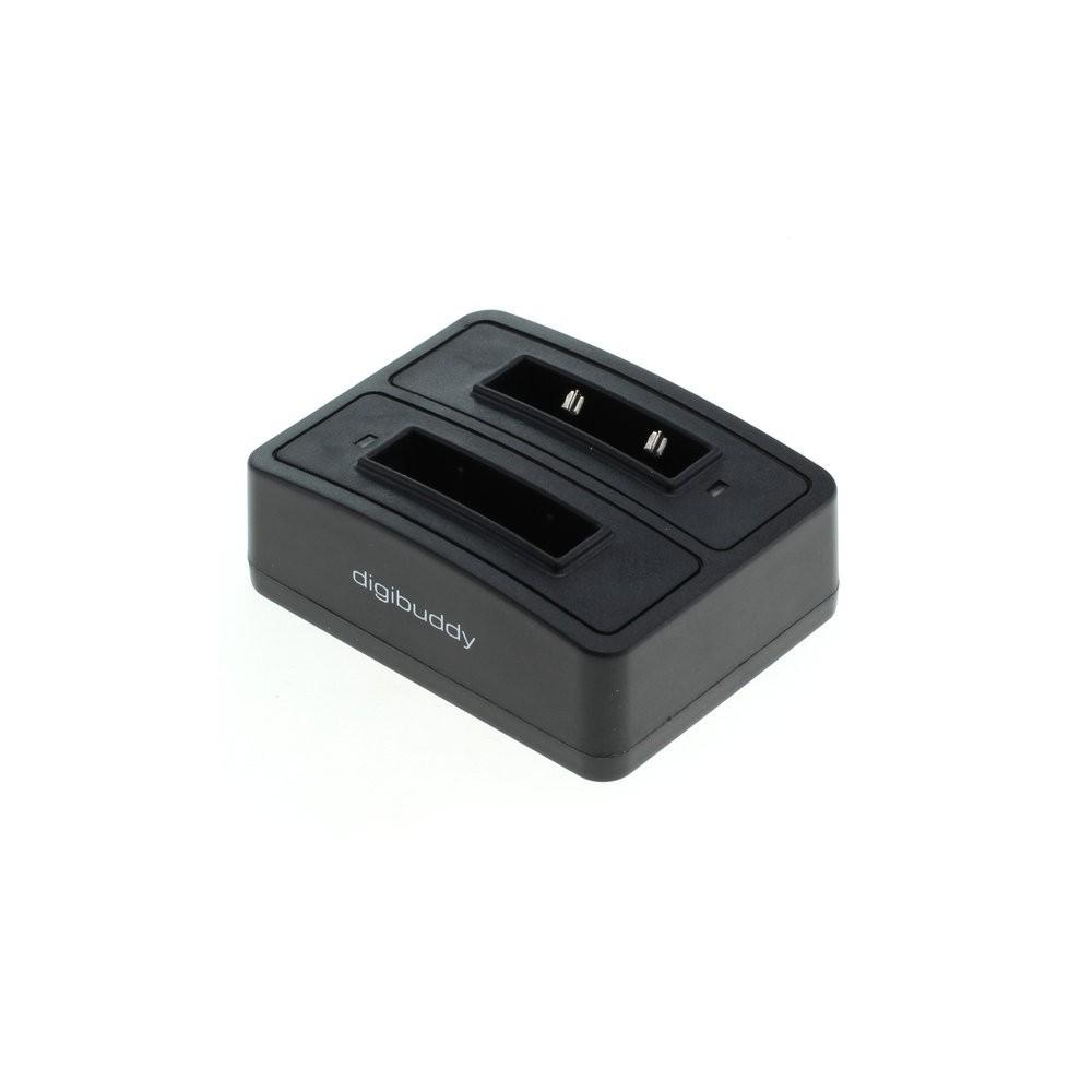 OTB - Kettős akkumulátor töltő dokkoló 1302 kompatibilis Sennheiser BA 90 - Fejhallgató és tartozékok - ON3792 www.NedRo.hu