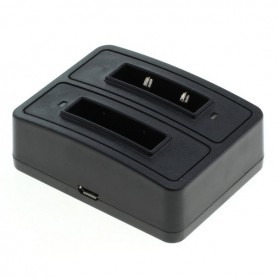 OTB - Dual Battery Charging Dock compatible with 1302 Sennheiser BA 90 - Headsets and accessories - ON3792-C www.NedRo.us