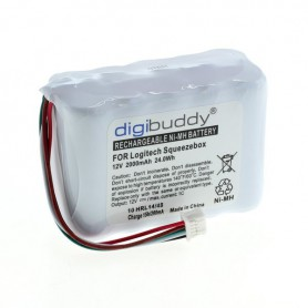 digibuddy - Digibuddy battery compatible with Logitech Squeezebox NiMH - Electronics batteries - ON3853-C www.NedRo.us