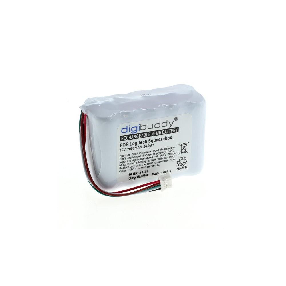 digibuddy - Digibuddy battery compatible with Logitech Squeezebox NiMH - Elektronika - ON3853-C www.NedRo.nl