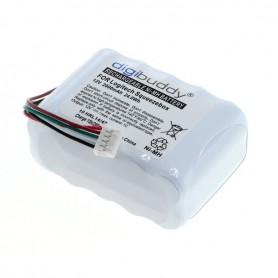 digibuddy - Acumulator Digibuddy compatibil cu Logitech Squeezebox NiMH - Baterii pentru electronice - ON3853 www.NedRo.ro