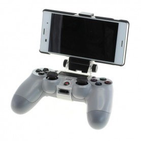 NedRo - OTB Smartphone holder for PS4 controller - incl. OTG cable - PlayStation 4 - ON3860-C www.NedRo.us