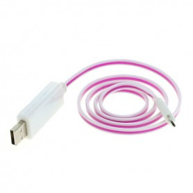 OTB data cable Micro-USB with animated running light
