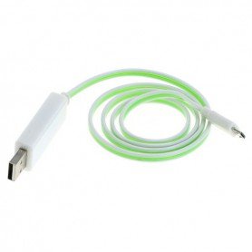 OTB - OTB data cable Micro-USB with animated running light - Diverse datakabels - ON3865 www.NedRo.nl
