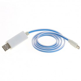 OTB - OTB data cable Micro-USB with animated running light - Diverse datakabels - ON3866 www.NedRo.nl