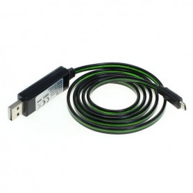 OTB - OTB data cable Micro-USB with animated running light - Diverse datakabels - ON3864-CB www.NedRo.nl
