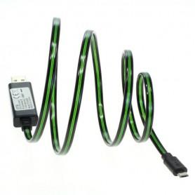 OTB - Cablu de date OTB Micro-USB cu lumină de funcționare animată - Alte cabluri de date  - ON3864-CB www.NedRo.ro