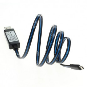 OTB - OTB data cable Micro-USB with animated running light - Diverse datakabels - ON3869 www.NedRo.nl
