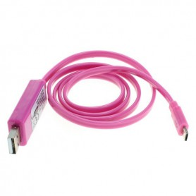 OTB - OTB data cable Micro-USB with animated running light - Diverse datakabels - ON3870 www.NedRo.nl