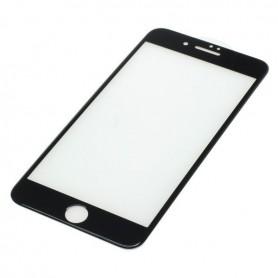 OTB, Protector de ecran OTB Acoperire completă 3D compatibilă cu Apple iPhone 7 Plus negru, iPhone folii protectoare, ON3914,...