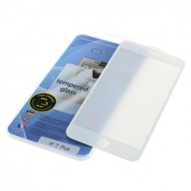 OTB - OTB Screen Protector Full Cover 3D compatible with Apple iPhone 7 Plus white - iPhone beschermfolie - ON3915 www.NedRo.nl