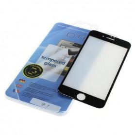 OTB - Protector de ecran OTB Acoperire completă 3D compatibilă cu Apple iPhone 7 negru - Folii protectoare pentru iPhone - ON...