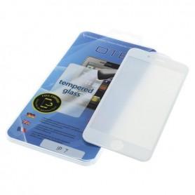 OTB - Protector de ecran OTB Acoperire completă 3D compatibilă cu Apple iPhone 7 alb - Folii protectoare pentru iPhone - ON39...