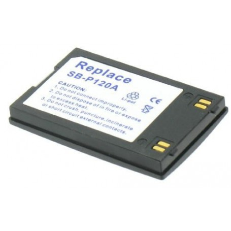 NedRo - Accu Batterij compatible met Samsung SB-P120A - Samsung FVB foto-video batterijen - V116 www.NedRo.nl