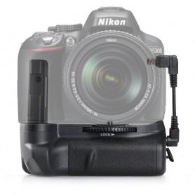 Oem - Battery Grip compatible Nikon D5300 D5200 D5100 DSLR - Nikon photo-video batteries - AL978