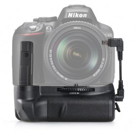 Travor - Batterij grip compatibel Nikon D5300 D5200 D5100 DSLR - Nikon foto-video batterijen - AL978 www.NedRo.nl