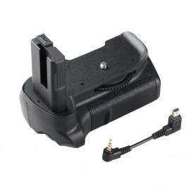 NedRo - Battery Grip compatible Nikon D5300 D5200 D5100 DSLR - Nikon photo-video batteries - AL978