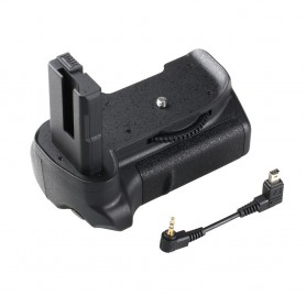 Travor - Battery Grip compatible Nikon D5300 D5200 D5100 DSLR - Nikon photo-video batteries - AL978 www.NedRo.us