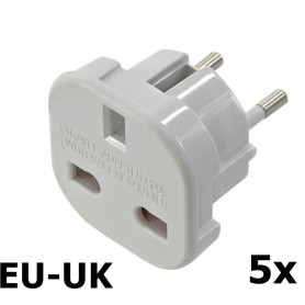 Unbranded - UK to EU Travel Plug - Plugs and Adapters - AC19-CB
