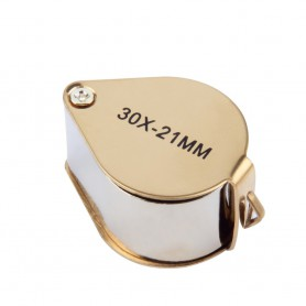 NedRo - 30x-zoom Lupă metal culoare aurie - Lupe și Microscoape - AL065 www.NedRo.ro