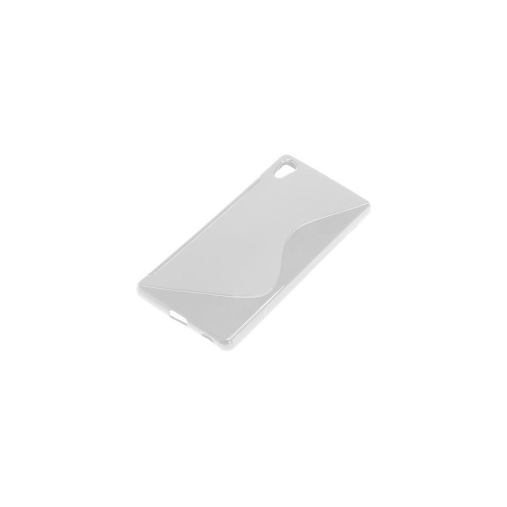 OTB - TPU Case voor Sony Xperia Z3+ S-Curve transparent ON1921 - Sony - Ericsson telefoonhoesjes - ON1921 www.NedRo.nl