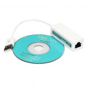 UGREEN - USB 2.0 la 10/100Mbps Ethernet LAN Network Adapter - Adaptoare retea - AL844 www.NedRo.ro