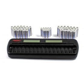 Maha Powerex MH-C808M AA AAA C D NiMH NiCD Batterijlader