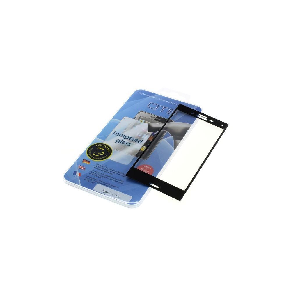 OTB - Displayschutzglas Full Cover 3D kompatibel zu Sony Xperia X Compact (mini) - Sony tempered glass - ON3964 www.NedRo.de