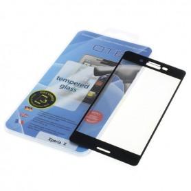Gehard glas volledige bedekking 3D voor Sony Xperia X Compact