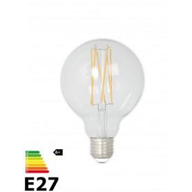 Vintage LED Lamp 240V 4W 350lm E27 GLB80 Helder 2300K Dimbaar