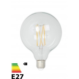 Calex, Vintage LED Lamp 240V 4W 350lm E27 GLB125 Cristal 2300K Dimmabil, Vintage Antic, CA077-CB, EtronixCenter.com