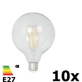 Calex - Vintage LED Lamp 240V 4W 350lm E27 GLB125 Clear 2300K Dimmable - Vintage Antique - CA077-10x www.NedRo.us