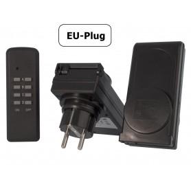 Calex, 2x Prize cu telecomandă de la distanță pentru afară, Mufe și adaptoare, CA036, EtronixCenter.com