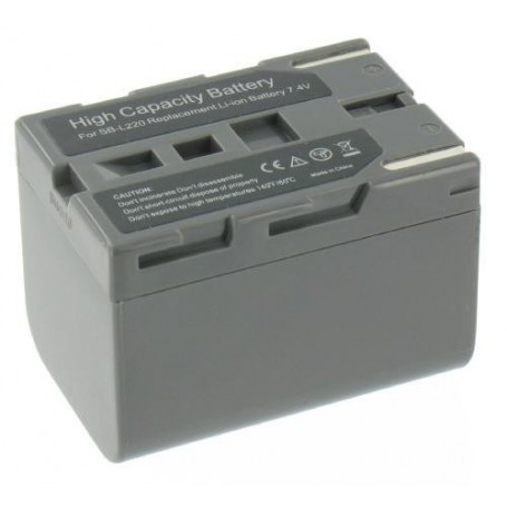 NedRo - Battery compatible with Samsung SB-L220 - Samsung photo-video batteries - V080-GXL www.NedRo.us