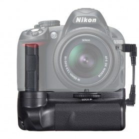 Travor, Battery Grip compatibil cu Nikon D3300 D3200 D3100 DSLR, Nikon baterii foto-video, AL839, EtronixCenter.com