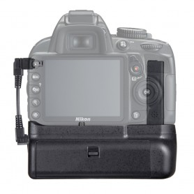Travor - Battery Grip compatible Nikon D3300 D3200 D3100 DSLR - Nikon photo-video batteries - AL839 www.NedRo.us