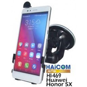 Haicom, Haicom klem autohouder voor Huawei Honor 5X HI-469, Auto raamhouder, ON4501-SET, EtronixCenter.com