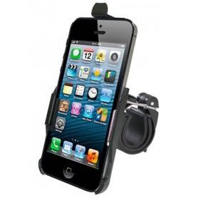 Haicom - Haicom Fietshouder voor Apple iPhone 5 / iPhone 5s / iPhone SE HI-228 - Fiets telefoonhouder - ON4514-SET www.NedRo.nl