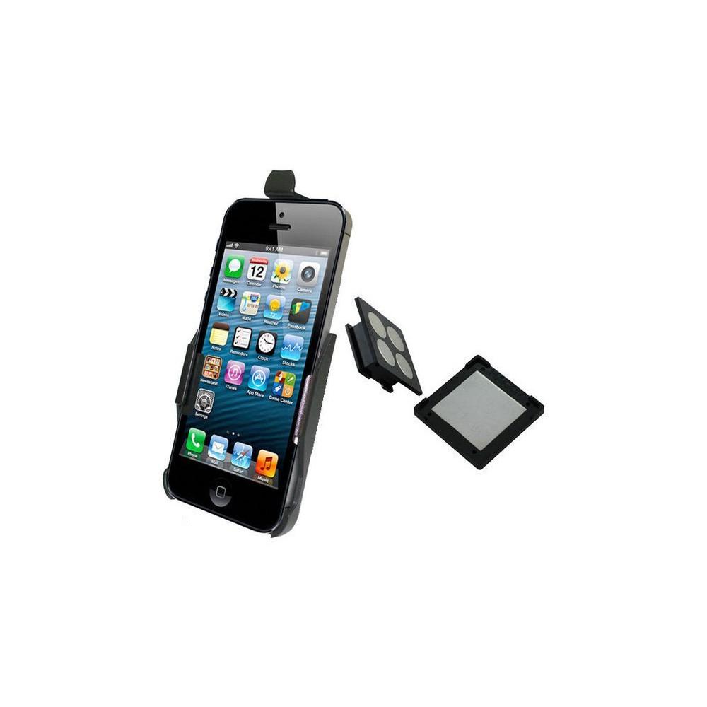 Haicom - Haicom magnetische houder voor Apple iPhone 5 / iPhone 5s / iPhone SE HI-228 - Auto magnetisch telefoonhouder - ON45...