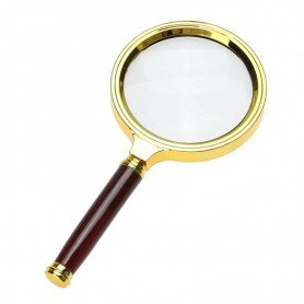 NedRo - 47mm 3x-Zoom Magnifier with handle - Magnifiers microscopes - AL838 www.NedRo.us