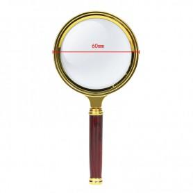 NedRo - 10x-Zoom Vergrootglas met handvat - Loepen en Microscopen - AL838 www.NedRo.nl
