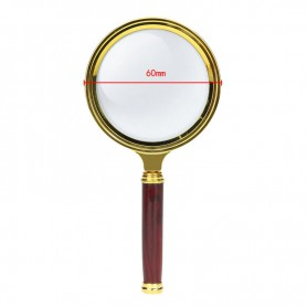NedRo - 47mm 3x-Zoom Vergrootglas met handvat - Loepen en Microscopen - AL838 www.NedRo.nl