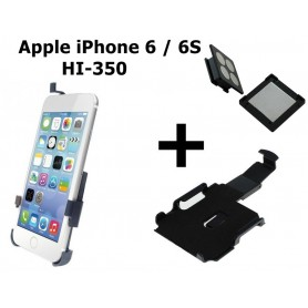 Haicom - Haicom magnetic phone holder for Apple iPhone 6 / 6S HI-350 - Car magnetic phone holder - ON4536-SET www.NedRo.us