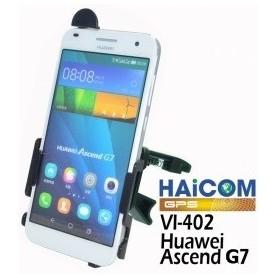 Haicom, Auto Ventilator Haicom klem houder voor Huawei Ascend G7 HI-402, Auto ventilator telefoonhouder, ON4537-SET, EtronixC...